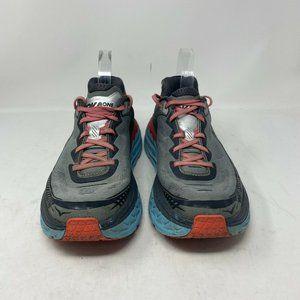 Hoka One One Men's Bondi 5 Grey Running Shoes - 10